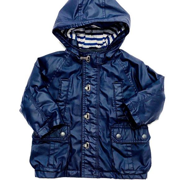 Baby Gap Blue Galaxy Raincoat